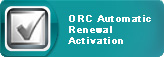 Official Register of Contractors Automatic Renewal Activation