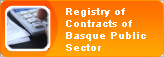 Registry of Contracts of Basque Public Sector
