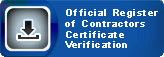 Official Register of Contractors Certificate Verification